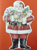 Carol Wilson Christmas *CRGBX119 サンタクロース赤封筒付   2