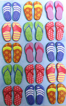 Stickers *42-63323「BEACH SANDLES」