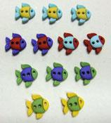 ボタン 6932 Sew Cute Fish