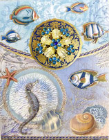 PS Brooch Memopad PS-46502  「Sea Life」