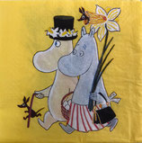 M中 F90   MMN ‐1206142  Art Moomin Easter Yellow
