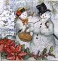 PS小 P03 53634 Snow couple
