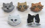 ボタン *5800 Fuzzy Felines