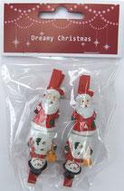 HB28469 *ポリクリスマス クリップ