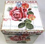ばらのアンティーク スツール「Dozen Roses」
