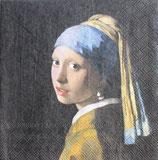 SI1中 F84 13311590 Girl with The Pearl Earring「真珠の耳飾りの少女」ヨハネス・フェルメール