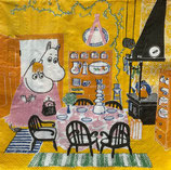 M中 F90 MMN-1206-88 Moomin  Kitchen