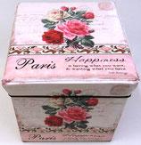 ばらのアンティーク スツール「Paris」
