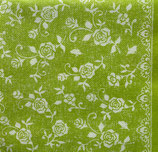 Dinner Nonwoven Fabric D-05    MK-88366 Lace (limette) 6枚入り