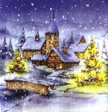 XS中 X39 611124 Christmas Village
