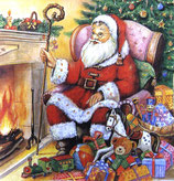 XD中  X01   SDLX-71800 Santa Fireplace