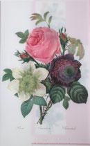クリアファイル「バラ・アネモネ・クレマティス」*P004-07