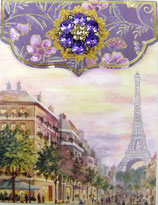 PS Brooch Memopad PS-46561 「Eiffel Tower」