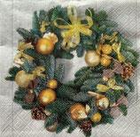 X'mas6中 X22 TL835000  Golden Wreath