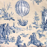 A中 C602 *14290L MONTGOLFIERE TOILE BLUE モンゴルフィエール(気球)トワレブルー