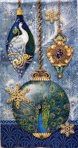 ゲストタオル 43264 Peacok Ornaments