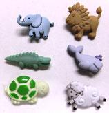 ボタン *5171 Baby Animals