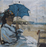 SI1中 F86 13309600 Monet 「 Beach at Trouville 」