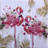 SI16中 F68 1333652 Floral Flamingos
