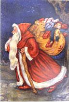 AUPC *45-D1016「ヴィクトリアン サンタ プレゼントを持って」