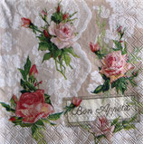 SI15中 F50 13314275 Roses on lace