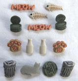 ボタン *1770 Cat Stuff