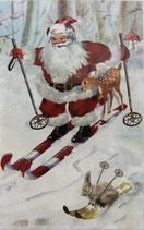 X'masC *NX282「Santa Skiing」