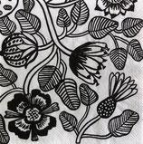 Marimekko小 M301 C606097 Tiara white black