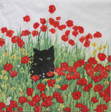 SI11中 F97 1332807 Black Cat Poppies