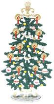 壁飾り *13-11015c Standing Christmas Tree Red スタンド型ツリー