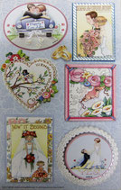 Stickers *42-31304「HAPPY WEDDING」