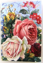PS Greeting Cards MS54403 薔薇園