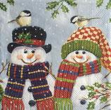 XS中 X07 33305095 Snowman Couple