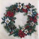 SPX小1 X22 C834660 Christmassy Wreath Cream