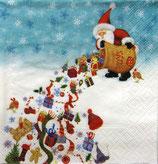 SIX小 X01  CLX-0346 Santa's Rain