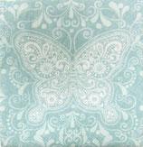 SI中1 F63 AB-131133 ペーズリー柄の蝶