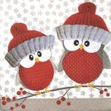 X'mas 3中 X23 ★1110-16504 Knit Cap Birds