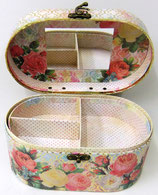 Vanity Cases APU-40802 Modern Rose