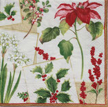 CAX中 C604 *X10880L Christmas Botanicals