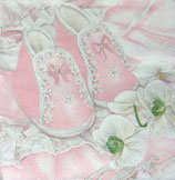 SI9中 F119 SLCH000601 Christening Shoes Pink