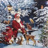 X'mas4中 X42 33313410 Santa on bench