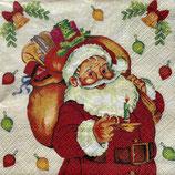 X'mas6中 X05 TL231700  Santa Claus with Gifts