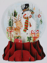 Snow Globe SGS068「Snowman」