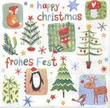 X'mas 3中 X25 ★1110-17509 Happy Christmas
