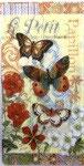 ゲストタオル 53625 Rustic Butterfly