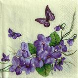 SI9中 F20 SDOG007401 Violet Flowers