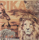 SI9中 F65 346018 Africa Collage Ochre