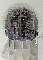 Snow Globe SGS050「Holiday Door」