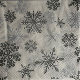X'mas4中 X12 611811 Snow Crystals silver
