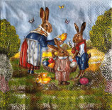 イースターD・中 F100 23301630 Family Hare
